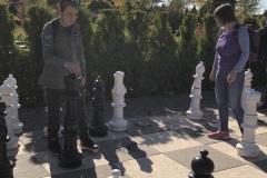 Rozgrywki szachowe w Ogrodach Kapias