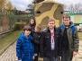Wizyta w schronie przeciwlotniczym w Bytomiu Miechowicach