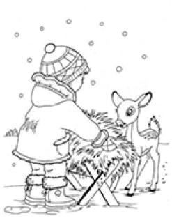 Dokarmiamy zwierzęta w zimie.