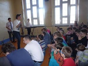 Koncert uczniów Szkoły Muzycznej.