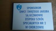 etykieta- sponsor owcy św. Jakuba