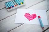 Serce na Walentynki.