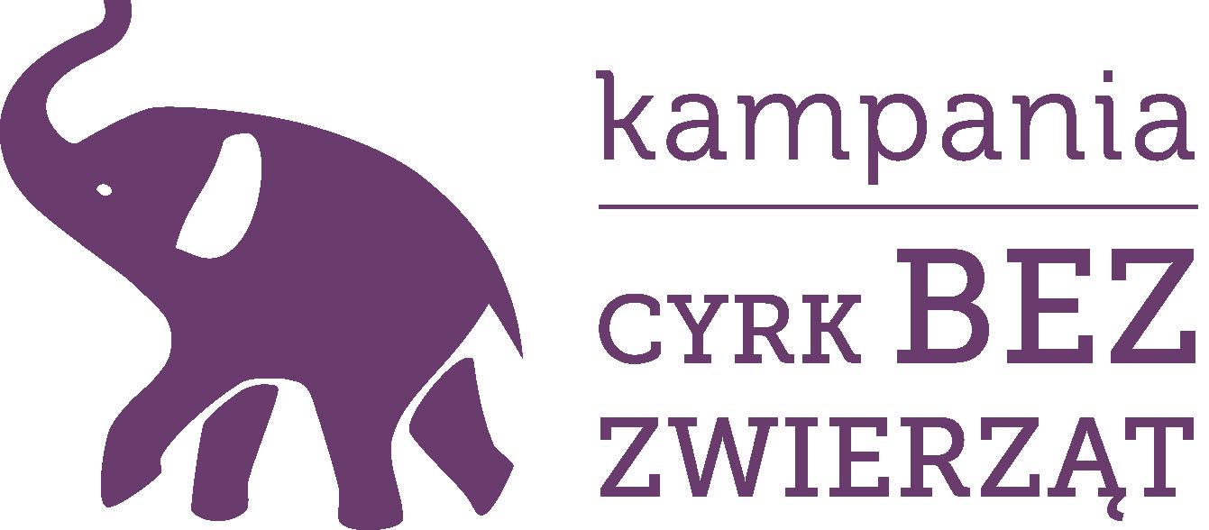 Logo kampanii Cyrk bez zwierząt
