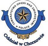 Znak Towarzystwa Opieki Nad Zwierzętami w Chorzowie.