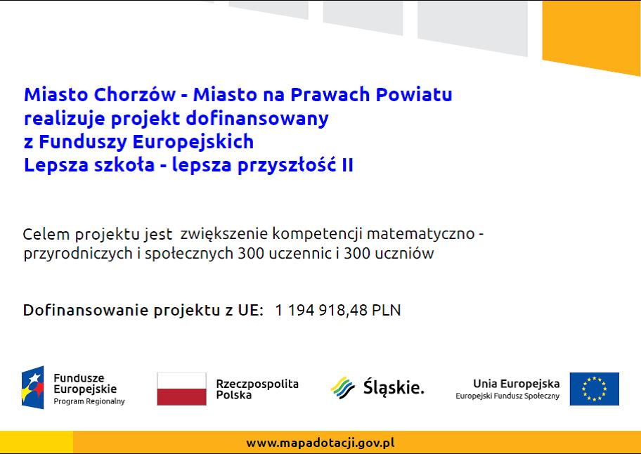 Projekt Unijny - informacje
