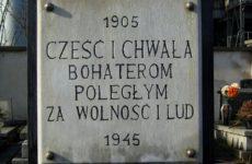 tablica pamiątkowa za tych co polegli za naszą wolność