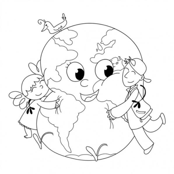 planeta rysunek