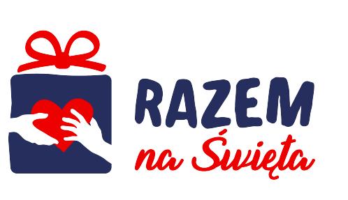 logotyp akcji Razem na Święta