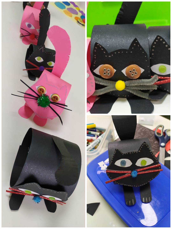 Prace plastyczne koty